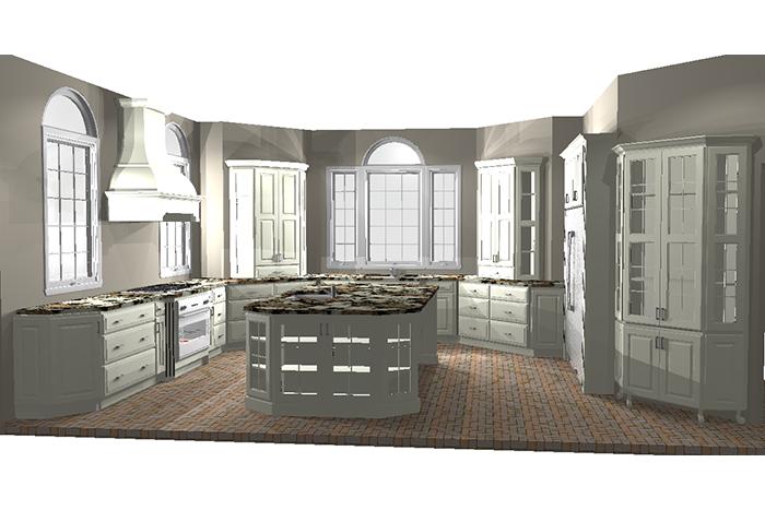 Aston Black 3D Design Rendering