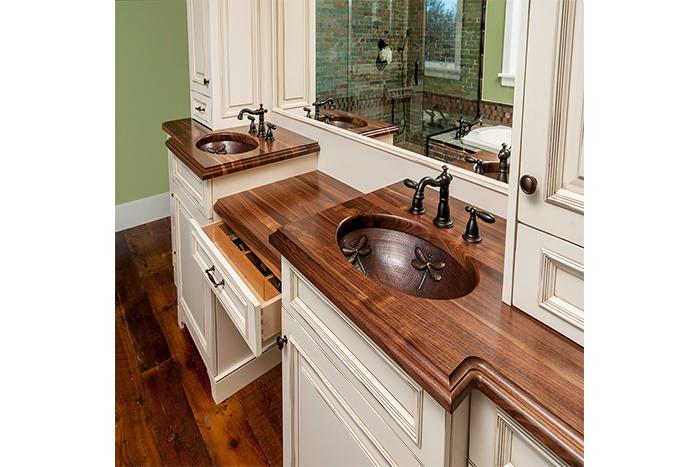 Aston Black custom bathroom design